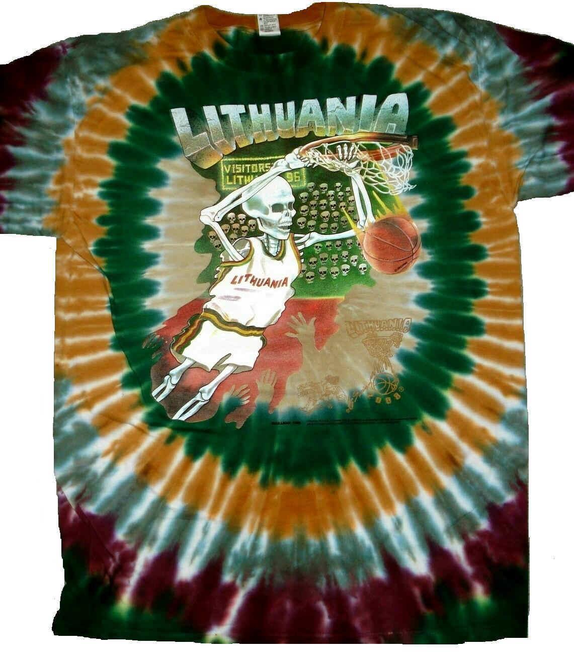 Skullman Lithuania Shirts Basketball